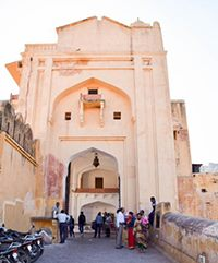Chand pol (moon gate) amer fort