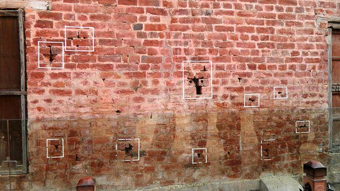 bullet marks Jallianwala Bagh