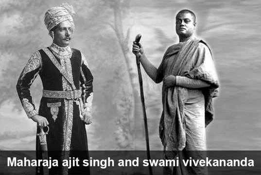 maharaja ajit singh and swami vivekananda