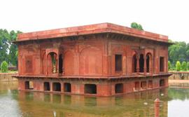 red fort delhi zafar mahal