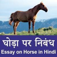 Horse Hindi nibandh