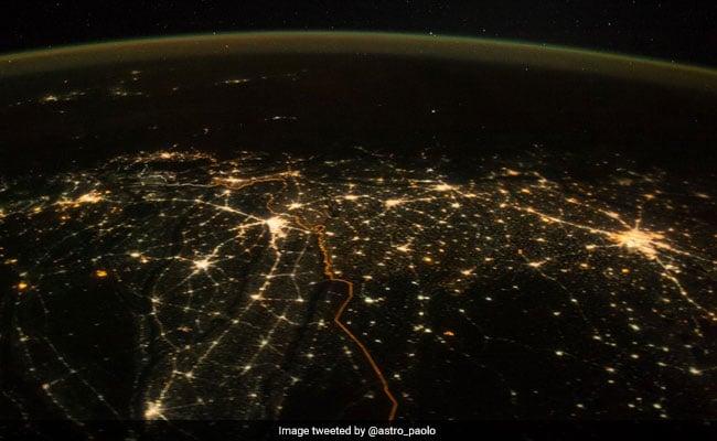 india space photo on diwali