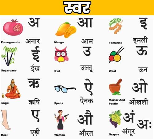 hindi swar