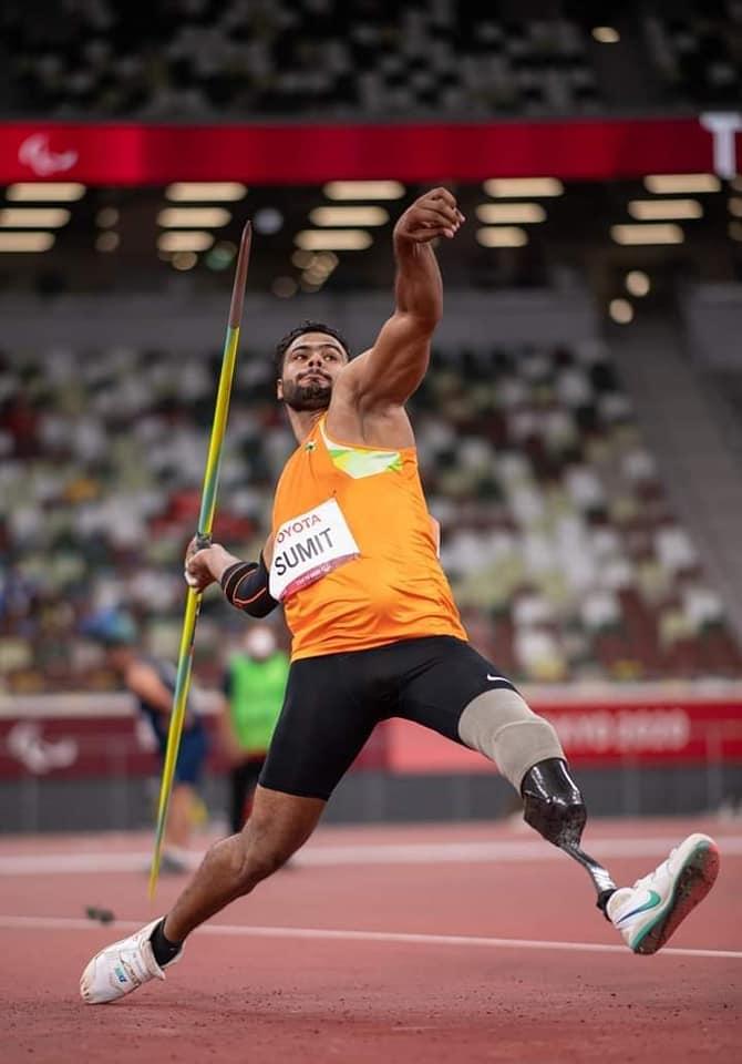Tokyo Paralympics sumit antil gold medal