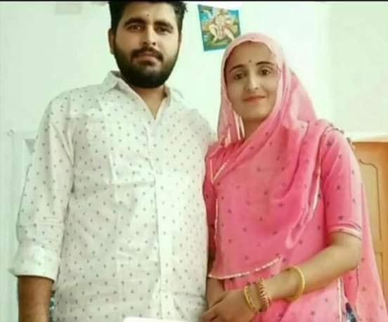 Ravindra Singh Bhati with Wife photo
